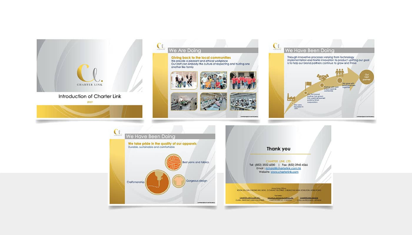 Charter Link - Power Point design